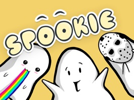 Enrich your conversations with these adorable little ghost called Spookie