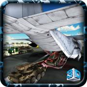 军队坦克运输飞机&卡车驾驶游戏