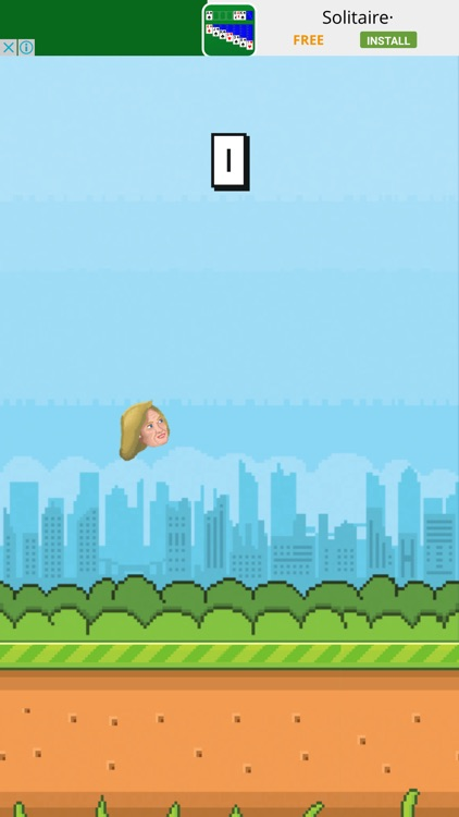 Flappy Trump vs Hillary Funny Game Elections Poll