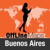 Buenos Aires Offline Map and Travel Trip Guide
