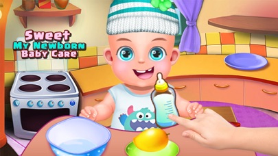 Sweet My newborn  baby care screenshot one