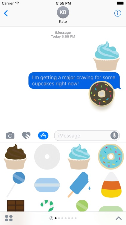 Sweets Sticker Pack for iMessage