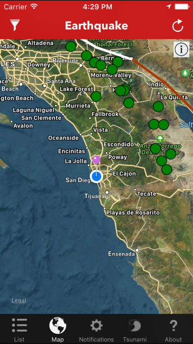 messages.download Earthquake Lite - Realtime Tracking App software