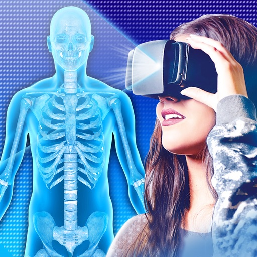 Рентген VR Шлем Симулятор Шутка