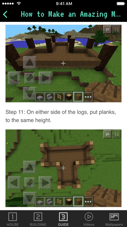 House Guide for Minecraft PE (Pocket Edition)