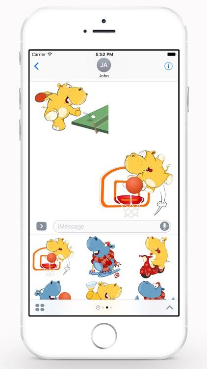 Cute Hippo screenshot-3