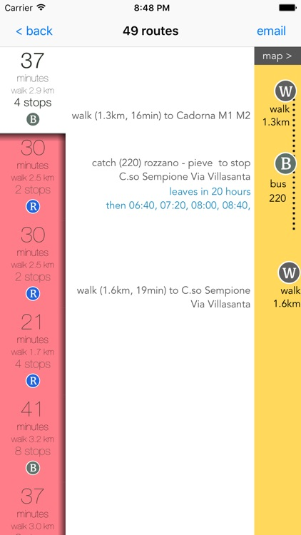 Milan Transport Guide screenshot-4