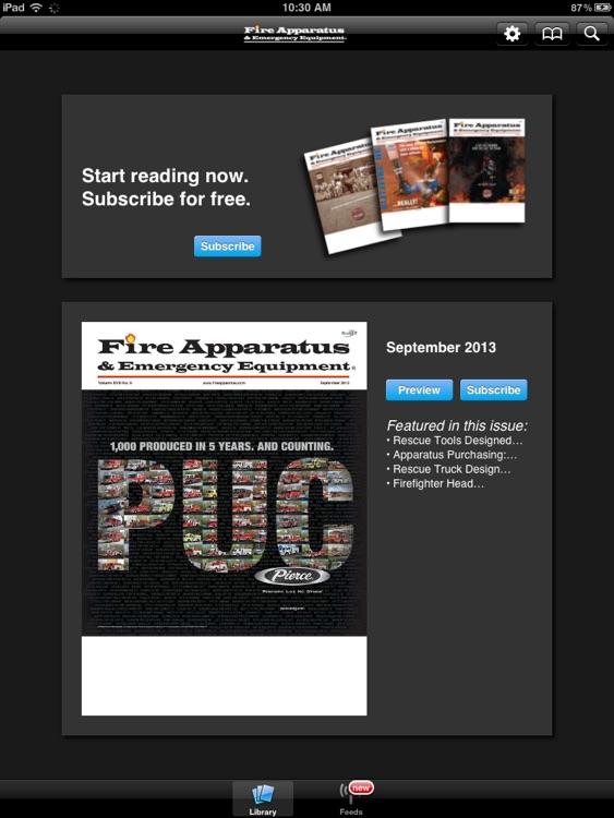 Fire Apparatus & Emergency Equipment Magazine