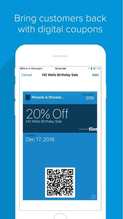 Flint - Accept Cards, No Dongles.  Invoicing. screenshot-4