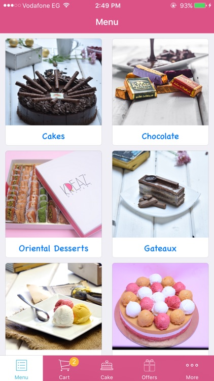 Kreaz Desserts - حلويات كريز screenshot-0