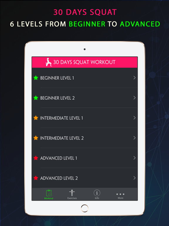 30 Day Squat Fitness Challenges ~ Daily Workout | App Price