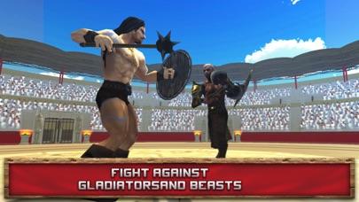 Immortal Gladiator Fighting Arena 3D screenshot one