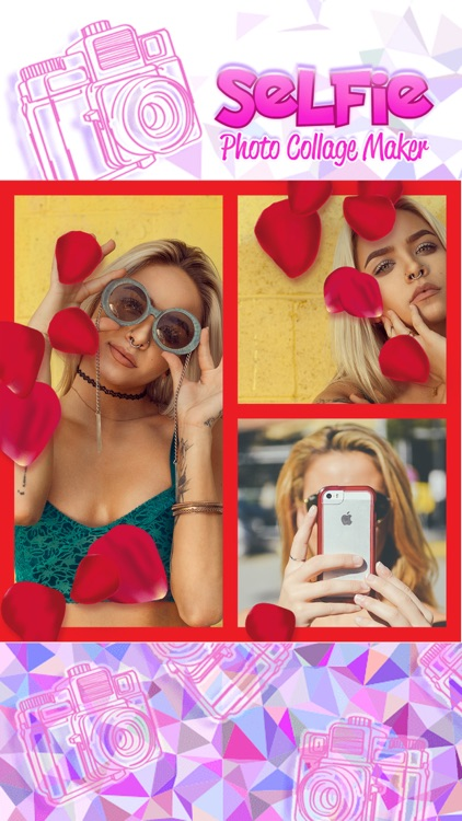Selfie Photo Collage Maker: Pic Editor with Frames