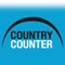 Country Counter helps travellers count the countries you've visited and share with friends through social media