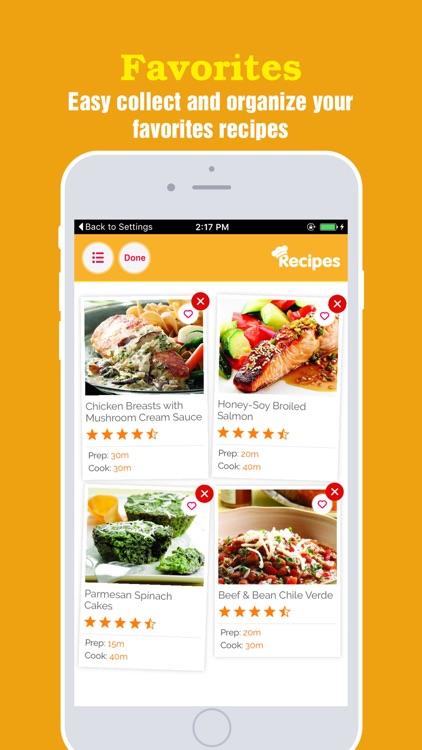 Gluten Free Recipes Pro ~ Easy Meal Ideas screenshot-3