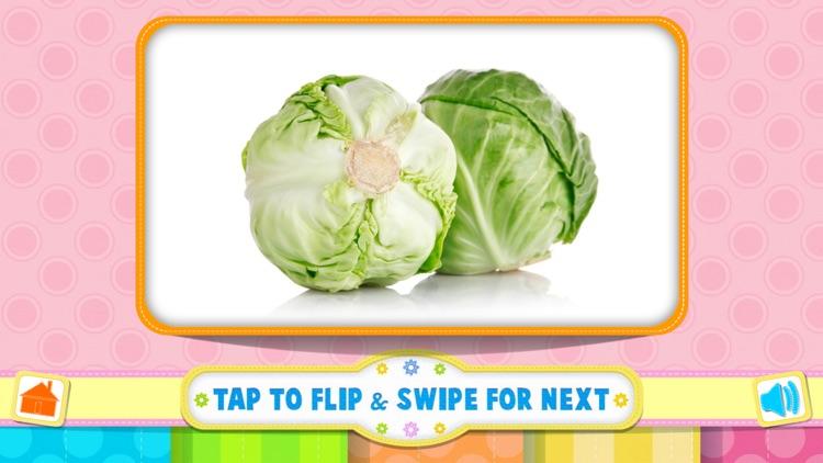 Tamizh Flash Cards- Vegetables