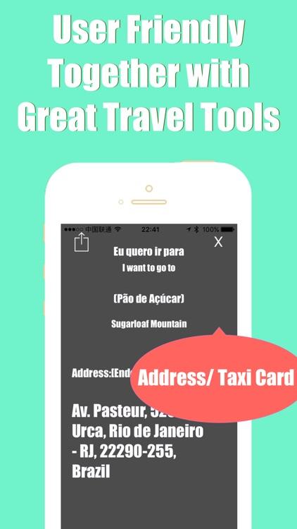 Rio de Janeiro metro transit advisor gps map guide screenshot-3