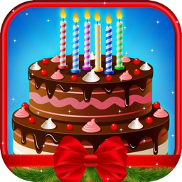 Christmas Cake Maker - Kids Cooking game for girls