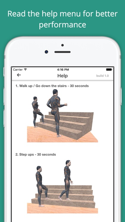 Stairs Workout Challenge Free - Build muscle, abs screenshot-4
