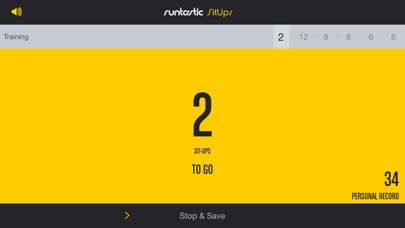 Screenshot for Runtastic Sit-Ups Trainer PRO in Czech Republic App Store