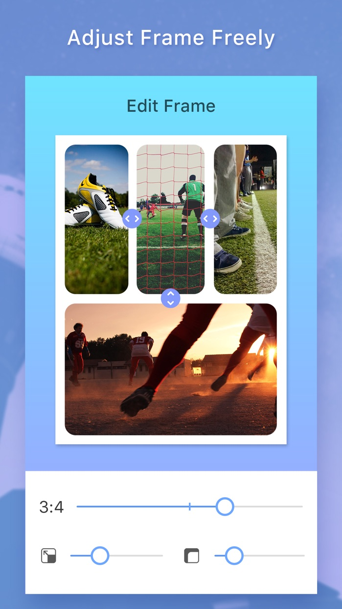 Photo & Video Collage Maker with Music Screenshot