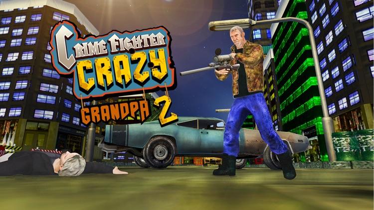 Crime fighter crazy grandpa 2 : Terrorist crime