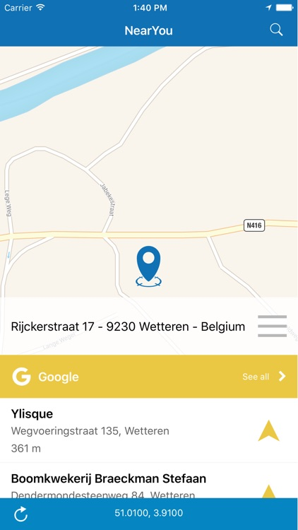 NearYou: find the best places around you