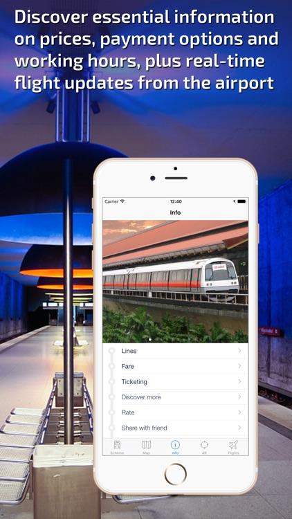 Singapore Metro Guide and MRT/LRT Route Planner screenshot-4