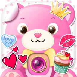 Cute Love Stickers Photo Editor Romantic Selfie