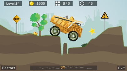 Screenshot #2 pour Big Truck -Mine Express Racing