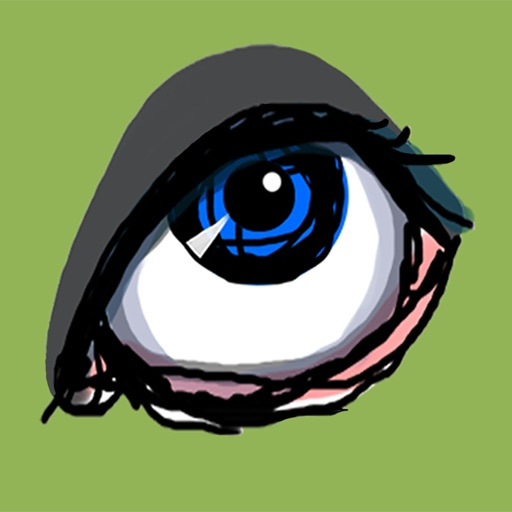 Sketchy Eyes add Expression to Texts Faces and Pix
