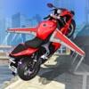 Real Flying Stunt Bike: Muscle Extreme Moto GP