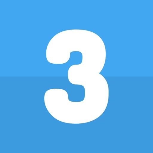 Do 3 Things: To-Do List Daily Habit & Goal Tracker iOS App