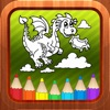 Dragon Kids Coloring Books for Babies and Toddlers