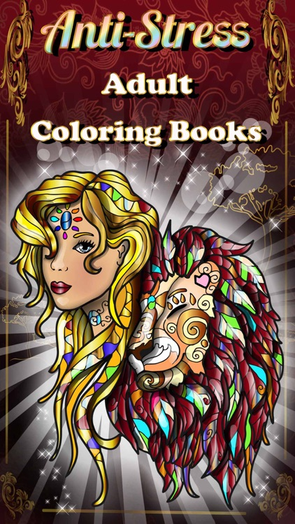 Adult Coloring Books Anti Stress Cats Pages Games