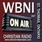 WBNI Christian Radio is a live streaming Internet radio station that broadcasts the Gospel through word and music