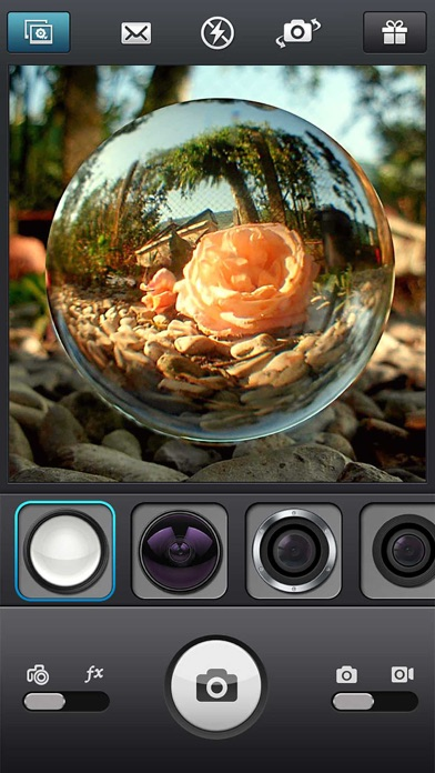 InFisheye - Fisheye Lens for Instagram Скриншоты3