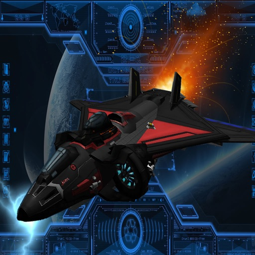 Super Spacecraft Track - Game Ship Fighter Lightning