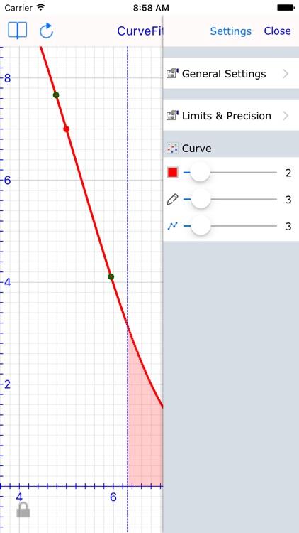 Curve Fit Graph Calculator screenshot-3