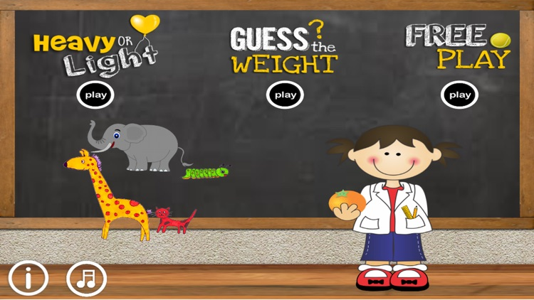Heavy or Light: Science & math for kids & toddlers