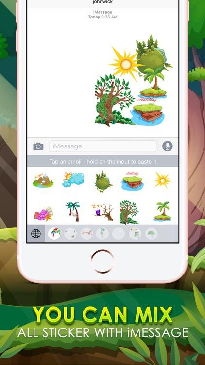 Natural Emoji Sticker Keyboard Themes ChatStick