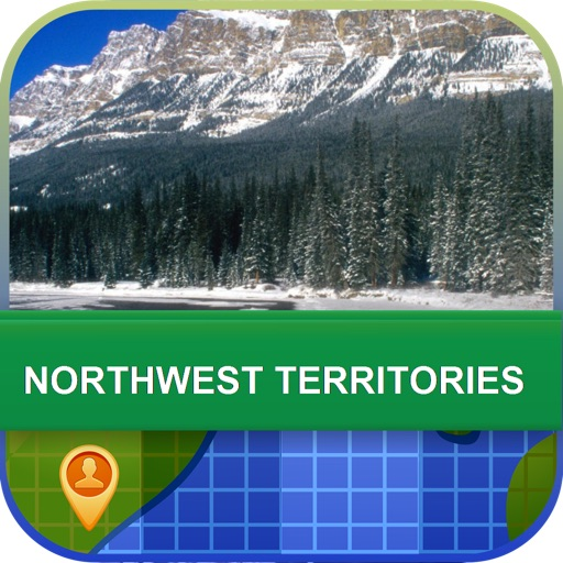 Northwest territories Map - World Offline Maps