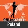 Polen Offline Karte und Reiseführer