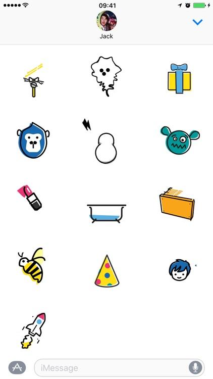 Lush Cosmetics Stickers