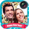 新年快乐帧 — — 创建自定义的问候,祝新年快乐