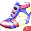 Shoes stickers by Weds for iMessage