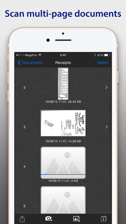 SharpScan: PDF scanner + OCR screenshot-3