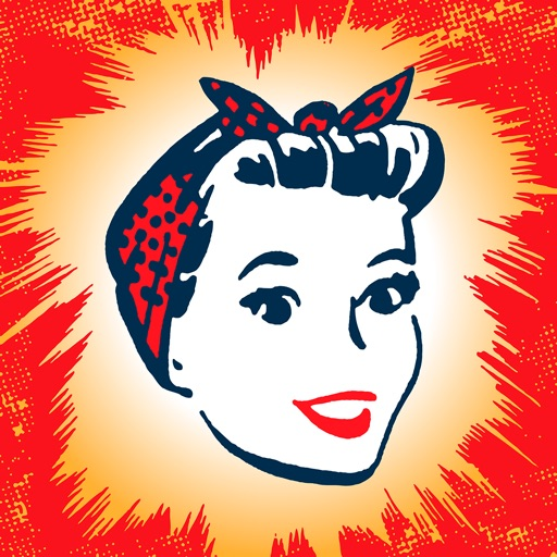 Retro Women - Animated Stickers for iMessage