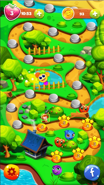 Charm Farm King - New Fruits Link Heroes screenshot-3