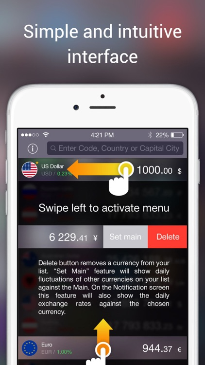 Currency Converter HD by Neklo screenshot-3